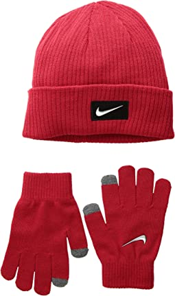 2ae87d8d0dd Nike dri fit running beanie glove set