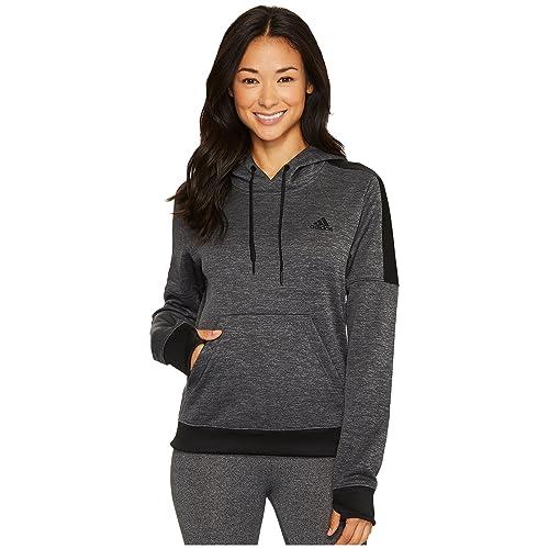4d21263424d5 adidas Women's Team Issue Fleece Pullover Hoodie