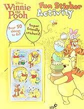 Disney Winnie the Pooh Fun Sticker Activity (Disney 3d Sticker Activity)