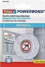tesa Powerbond Universeel Kleur: wit