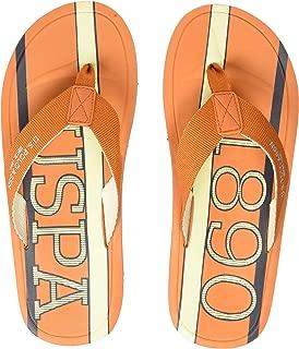 US Polo Association Men's Fame Flip Flops Thong Sandals