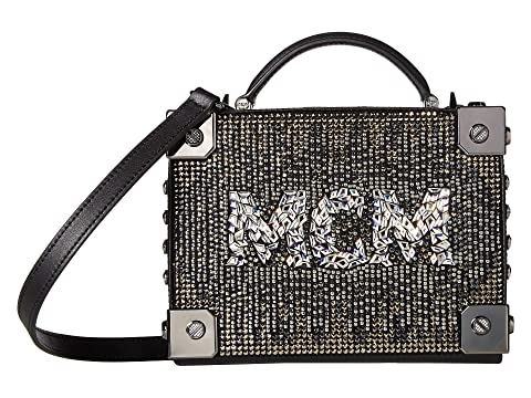 MCM Berlin Mosaic Crystal Crossbody Small