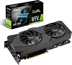 ASUS GeForce RTX 2080 Super Overclocked 8G GDDR6 Dual-Fan EVO V2 Edition VR Ready HDMI DisplayPort 1.4 Graphics Card (DUAL...