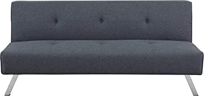 """Serta Salinas Sofabed, 66.1"""" W x 33.1"""" D x 28.3"""" H, Charcoal"""