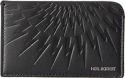 Neil Barrett - Embossed Thunderbolt Card Holder