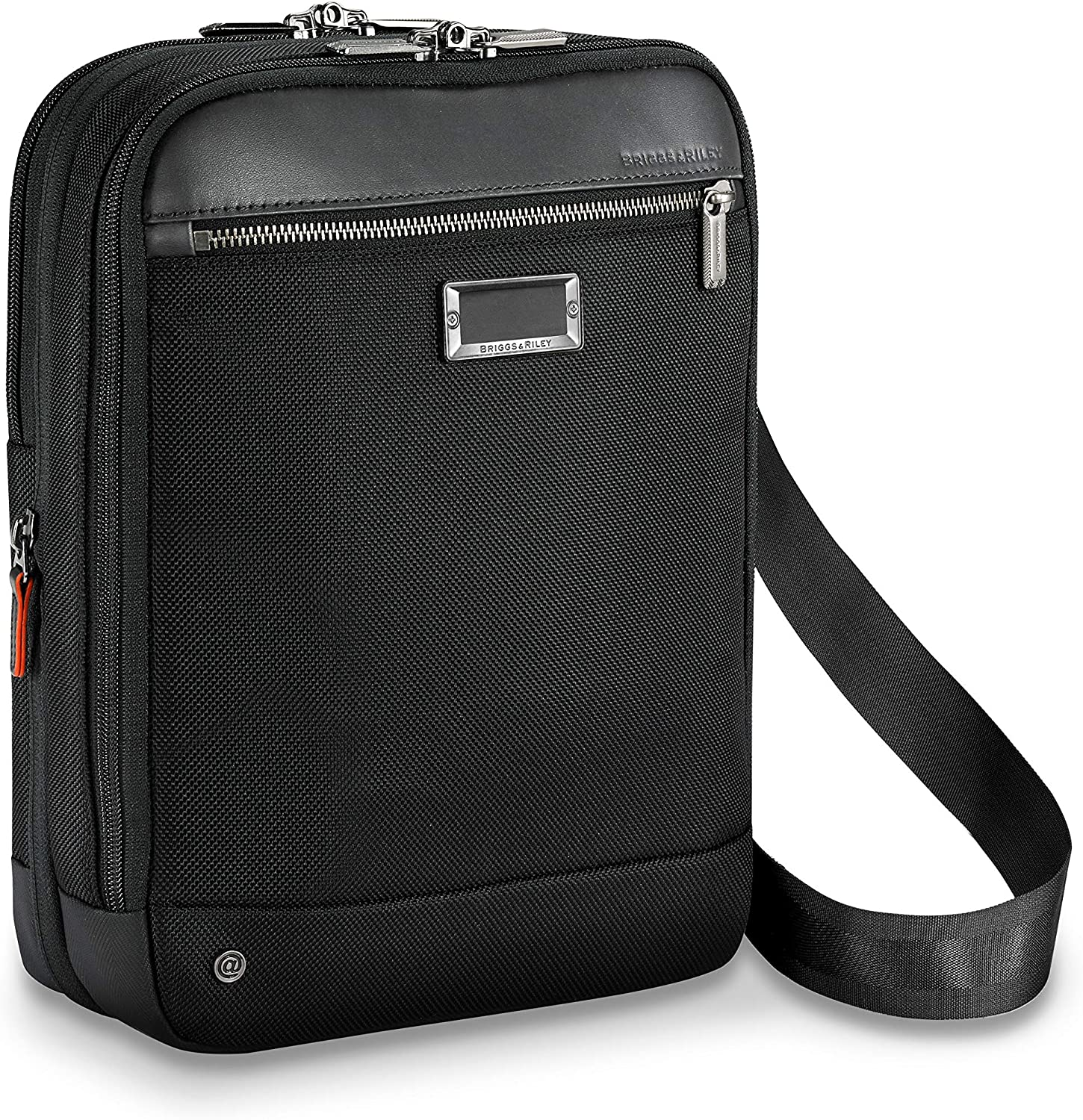 Briggs & Riley @ Work-Expandable Crossbody, Black, One Size