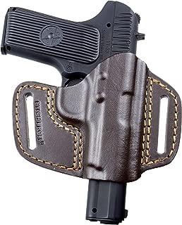 STICH PROFI® Tokarev, TT (TT-33), Zastava M-57, Zastava M-70A, Zastava M88 concealed carry OWB gun holster, genuine leather, RH, brown