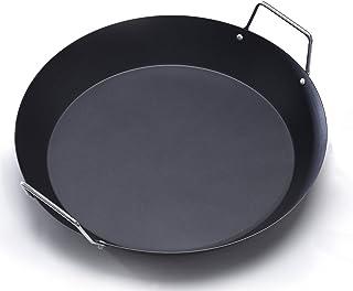 IMUSA CAR-52022 - Paellera con mango de metal, 15 pulgadas, color negro