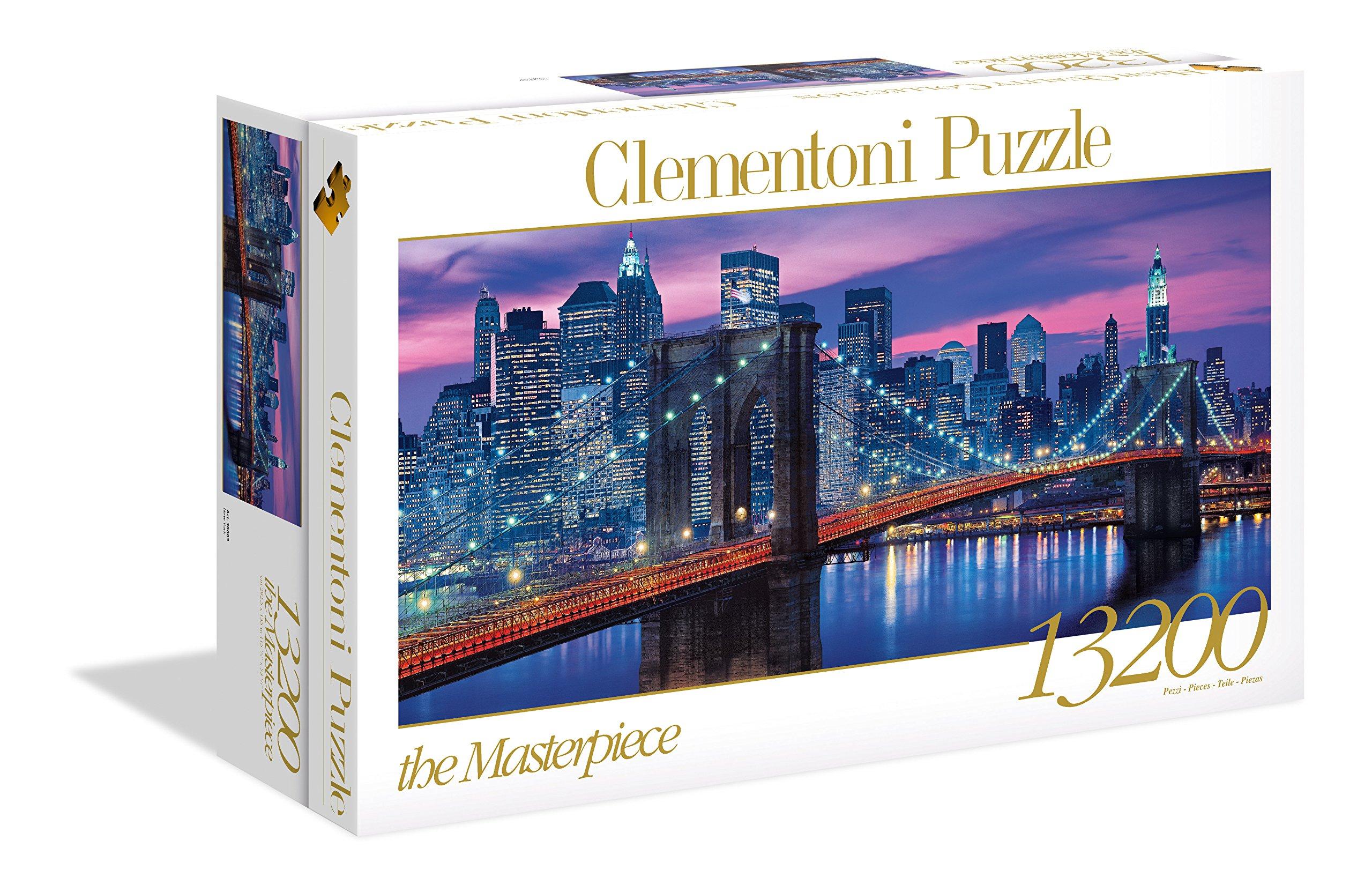 Clementoni - Puzzle 13.200 Piezas New York (38009): Amazon.es: Juguetes y juegos