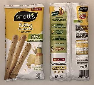 Snatts Palitos de Cereales con Queso GREFUSA Bolsa [Pack 10 x 56 ...