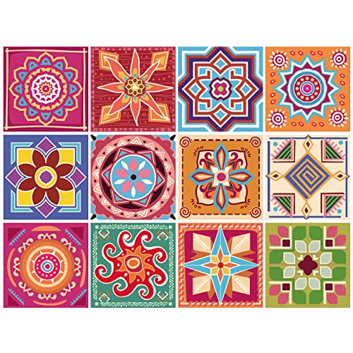 Nice GSS Designs 12 PC Pack 6x6 Inch (15x15cm) Backsplash Tile Stickers Wall  Tile Decals