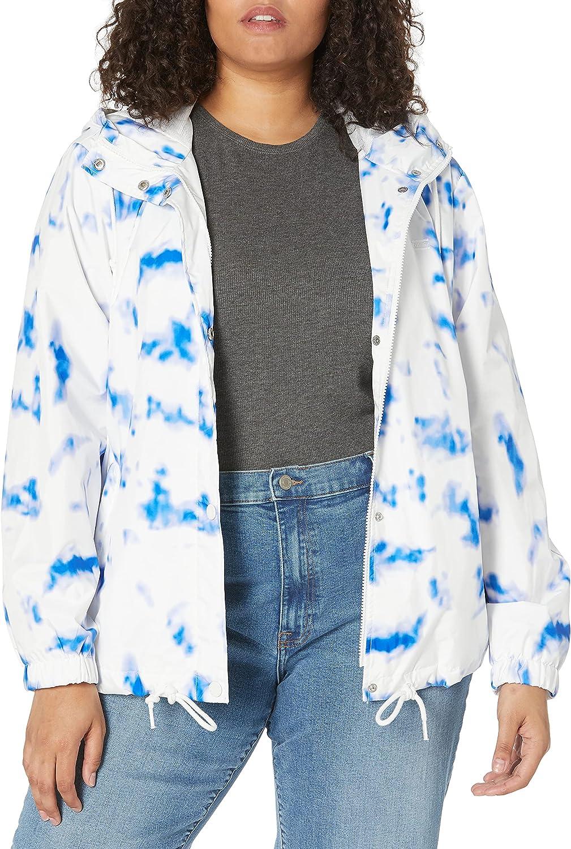 Levi's Women's Retro Hooded Rain Windbreaker Jacket (Standard & Plus Sizes)