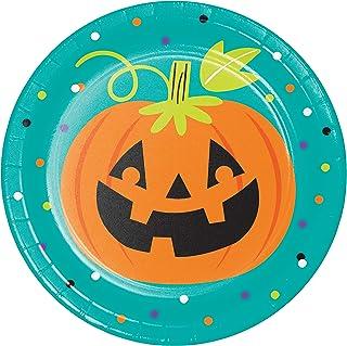 Friends of Halloween Dessert Plates, 24 ct