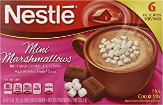 Nestle 雀巢 热可可迷你棉花糖混合物 0.71 盎司(约 20.2 克) 6 盒(12 包装)