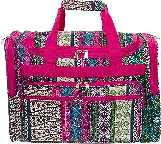 Womens Printed Duffel Bag (Chevron)