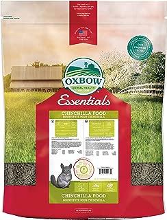 oxbow chinchilla deluxe food