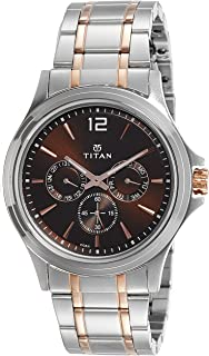 Workwear Men's Chronograph Watch | Quartz, Water Resistant, Stainless Steel Band