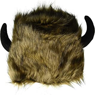 Men's Lodge Hats with Black Horns