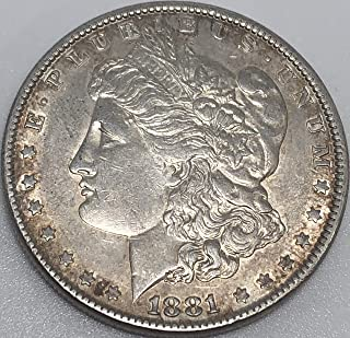 1881 P Silver morgan Beautiful Wild West ERA Dollar XF Extremely Fine Details Grade