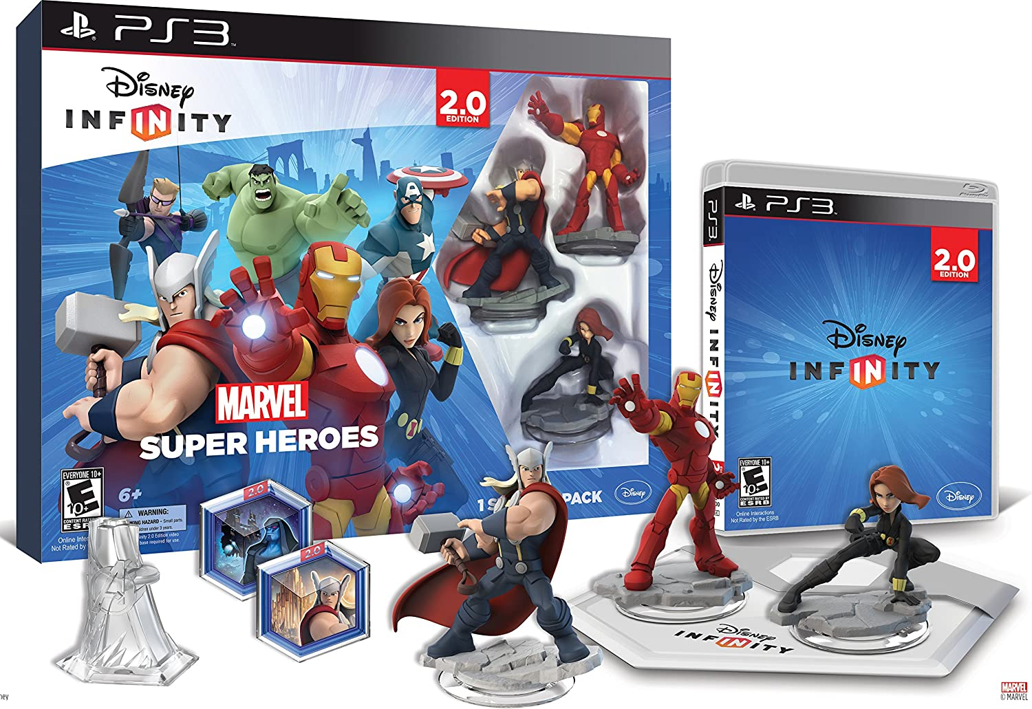 Disney INFINITY  Marvel Super Heroes (2.0 Edition) Video Game Starter Pack  PlayStation 3