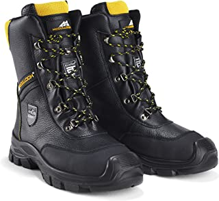 McCulloch CLO044 Chainsaw Protective Leather Boots - Size 44