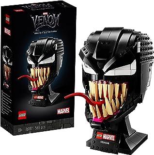 LEGO 76187 Marvel Spider-Man Venom Mask Building Set for Adults, Collectible Gift Model