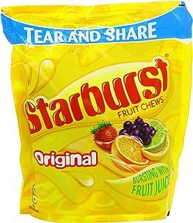 Starburst Original Large Bag Kids Fruit Sweets - 12 x 192gm