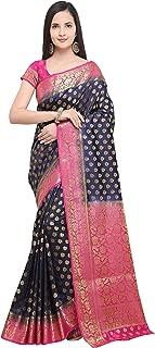 Best blue saree silk Reviews