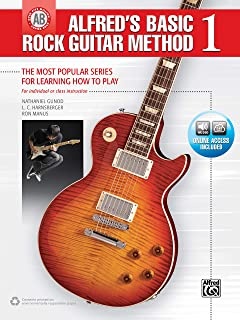 Alfreds Basic Rock Guitar 1: The Most Popular Series for Learning How to Play