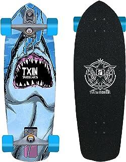 TXIN - Surfskate Shark Attack 34 with T12 Surf Skate Skat...