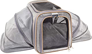 Premium Airline Approved Expandable Pet Carrier by Pet Peppy- Two Side Expansion,..