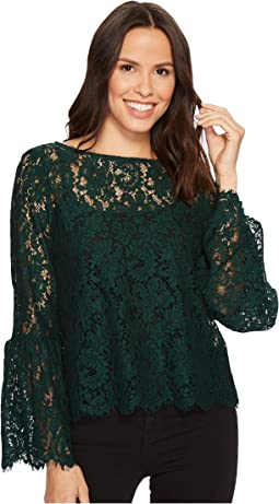 Karen Kane - Bell Sleeve Lace Top