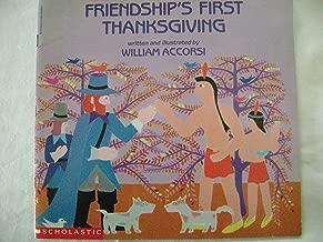 Friendship's First Thanksgiving