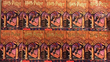 Harry Potter and the Sorcerer's Stone 10 Copy Book Group Set