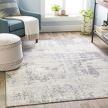 """Artistic Weavers Doria Area Rug 4'3"""" x 5'11"""", Silver Gray"""