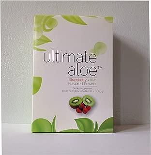 Ultimate Aloe Powder - Strawberry Kiwi Flavor Single Box (16 Servings)