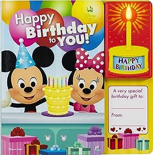Disney Baby Mickey and Minnie Mouse - Happy Birthday to You Sound Book - PI Kids