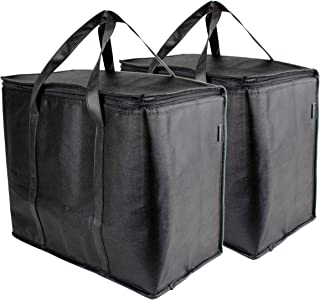 SB Organics Insulated Thermal Food Delivery Bag - Portable Lunch Bag Great for Grocery Shopping, Catering Supplies, and Fo...