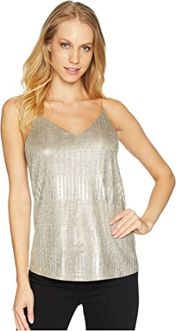 Tessa Metallic Cami Top