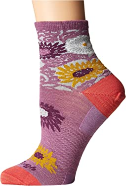 Darn Tough Vermont - Floral Shorty Socks