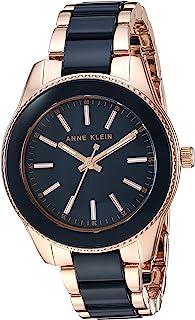 Anne Klein Women's Gold-Tone and Resin Bracelet Watch