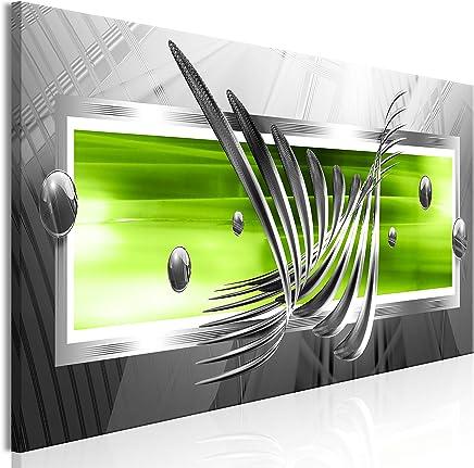 Murando Impression Sur Toile Intissee Abstrait 150x50 Cm Tableau Tableaux  Decoration Murale Photo Image Artistique Photographie