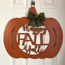 happy fall yall door hanger