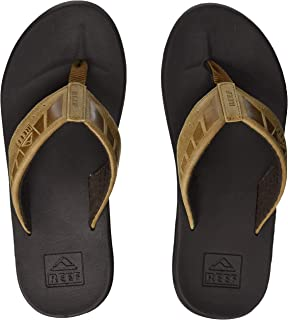 Reef Mens Sandals Phantom | Athletic Flip Flops For Men...