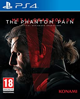 Ps4 Metal Gear Solid V The Phantom Pain Oyunu