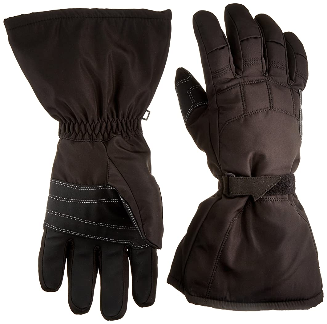 Joe Rocket 1056-9005 Sub-Zero Men's Cold Weather Motorcycle Riding Gloves (Black/Black, X-Large)