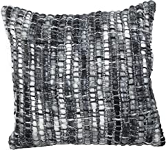 Urban Loft by Westex Frankfurt Decorative Throw Pillow, Home Décor for All Occasions, 20 x 20, Charcoal