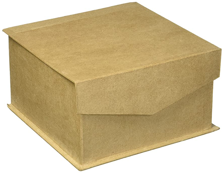 Craft Ped Paper CPLBF0031M Mache Keepsake Box Med