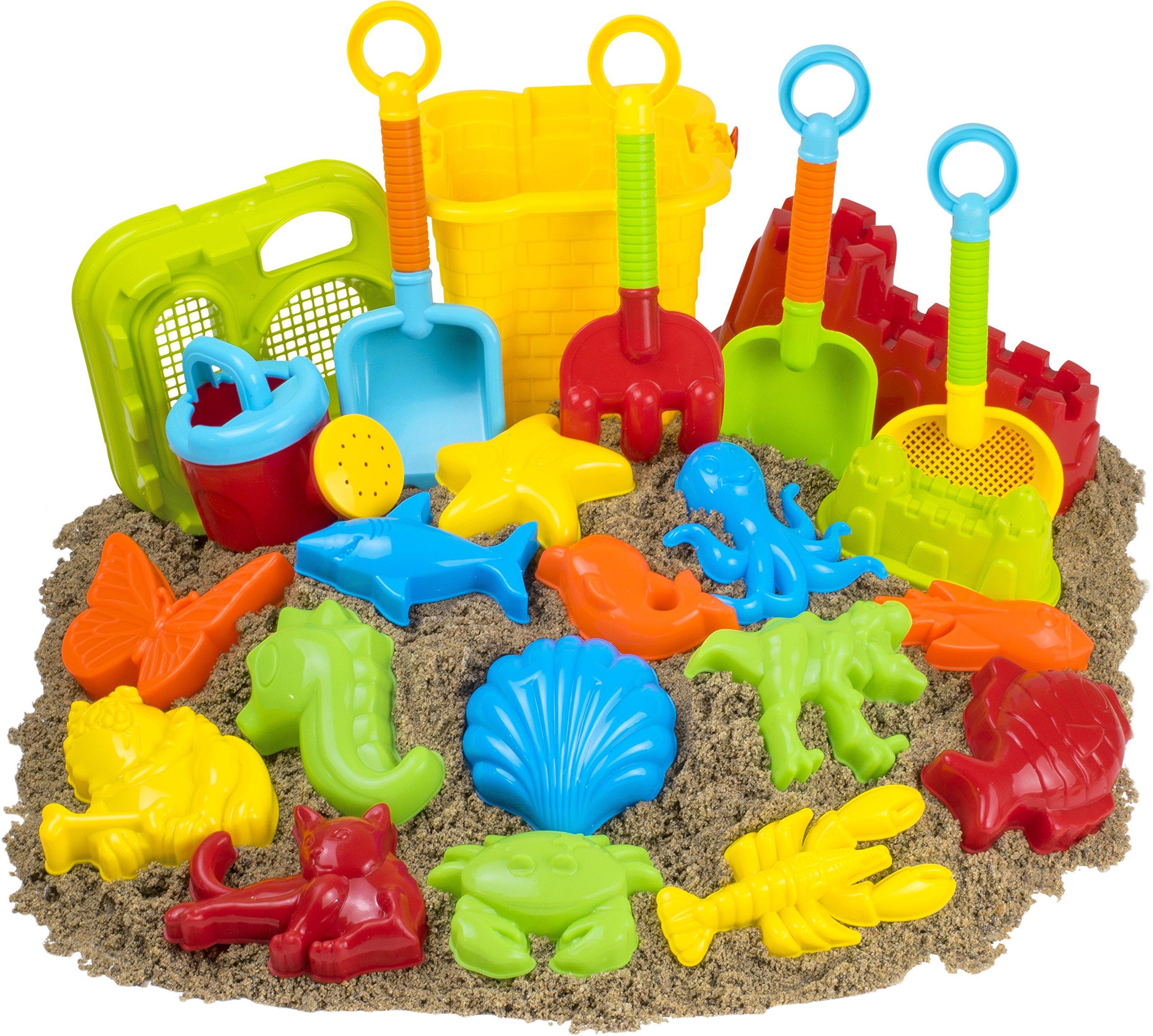 23pc Kids Beach Toys Sandbox