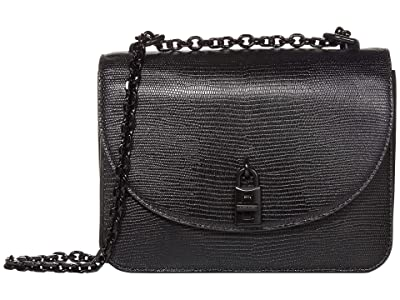 Rebecca Minkoff Love Too Crossbody (Black) Handbags